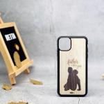 Ốp lưng iphone 11 Pro max khảm gỗ thủ công 2
