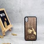 Ốp lưng gỗ Iphone x 0