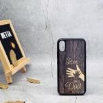 Ốp lưng gỗ Iphone x 1