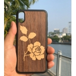 Ốp lưng iphone XSmax khảm gỗ thủ công 1